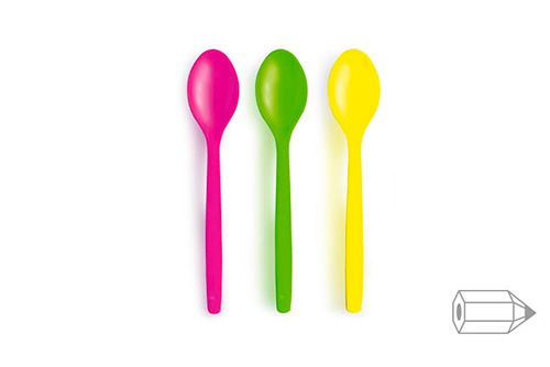 Customizable Ice Cream and Sundaes Spoons