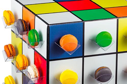 Macarons Cube