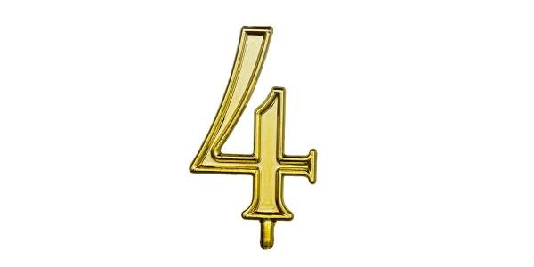 NUMERO 4 S/B 1 CONF.(10X10)
