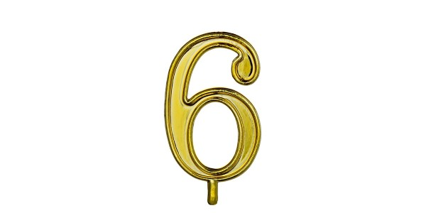 NUMERO 6 S/B 1 CONF.(10X10)