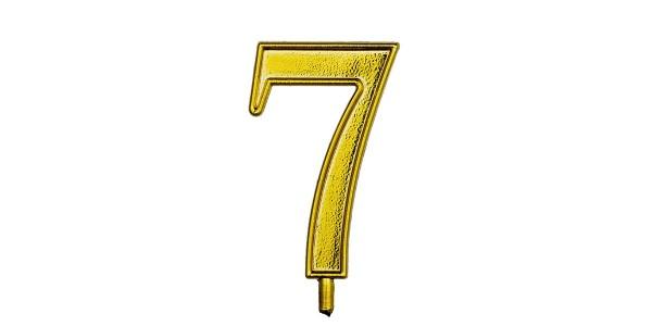 NUMERO 7 S/B 1 CONF.(10X10)