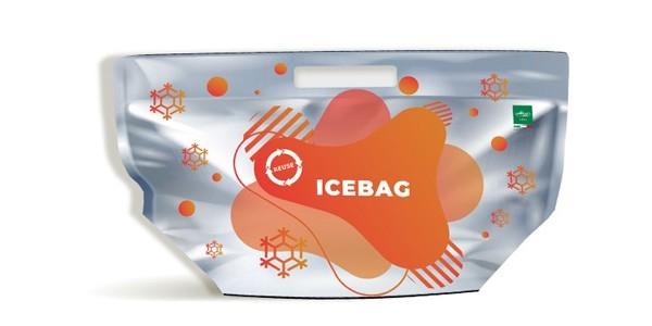 BUSTA ICE BAG GRANDE 52X27 ARANCIO