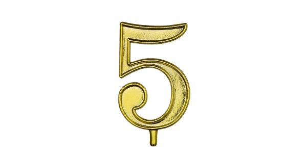 NUMERO 5 S/B 1 CONF.(10X10)