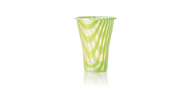 Green Glass for Smoothies and Granita 300 cc