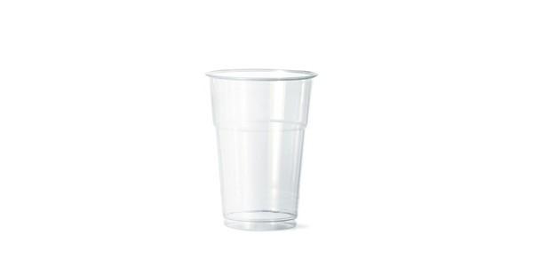 Transparent Everyday Glass 400 cc