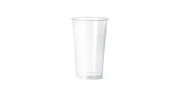 Transparent Everyday Glass 500 cc