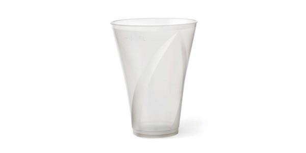 Transparent Durable Plastic Cup 300 cc