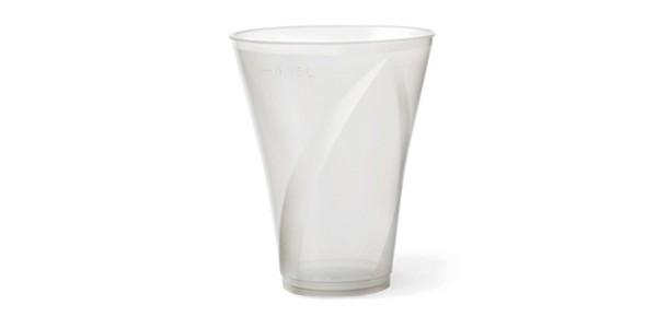 Transparent Durable Plastic Cup 420 cc
