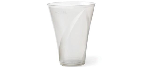 Transparent Durable Plastic Cup 580 cc