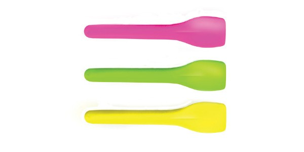 Disposable Spoons for Ice Cream Pastel