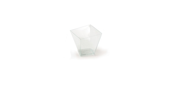 Square Cups for Bijoux and Sweets 70cc