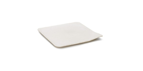 Stone Style Tray Pearl 11X11 CM