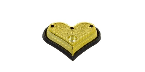 Gold Heart Base 100 Piece